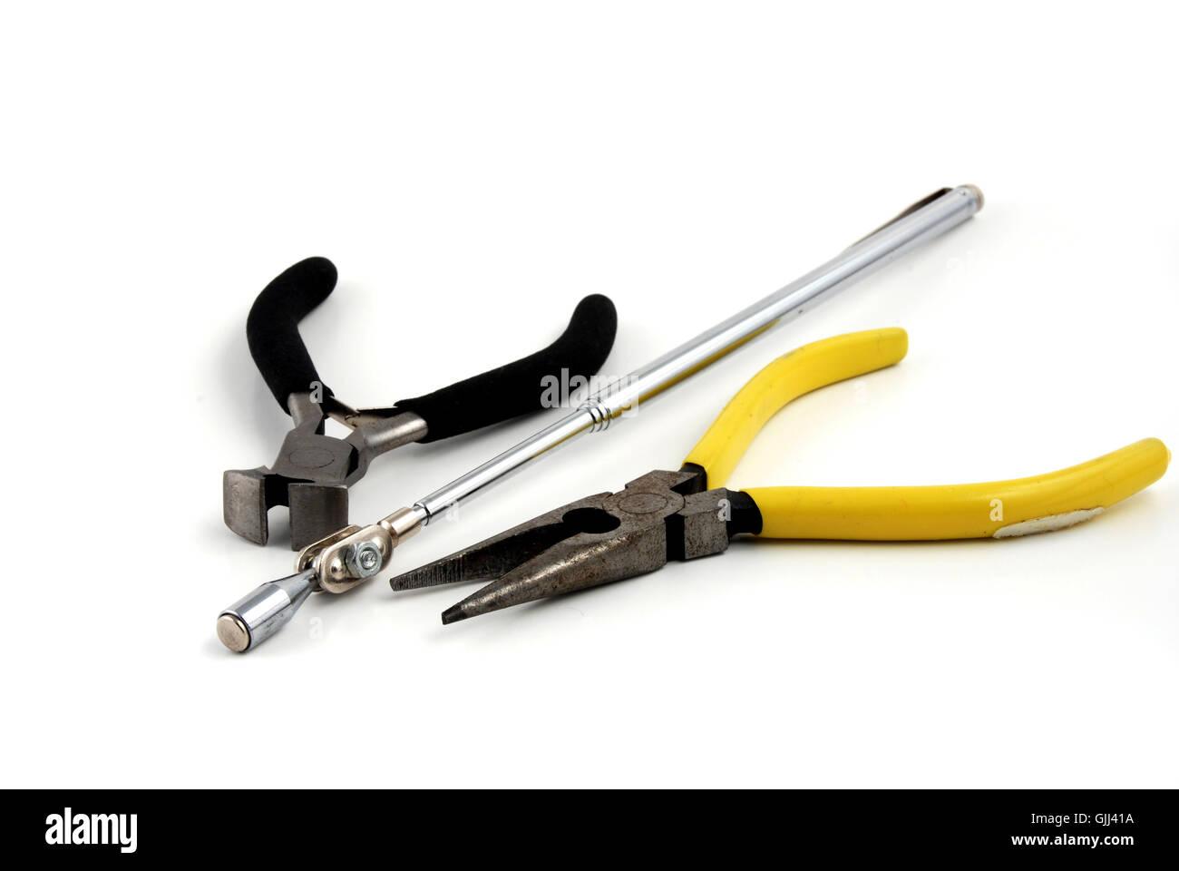 tool repair work - Stock Image