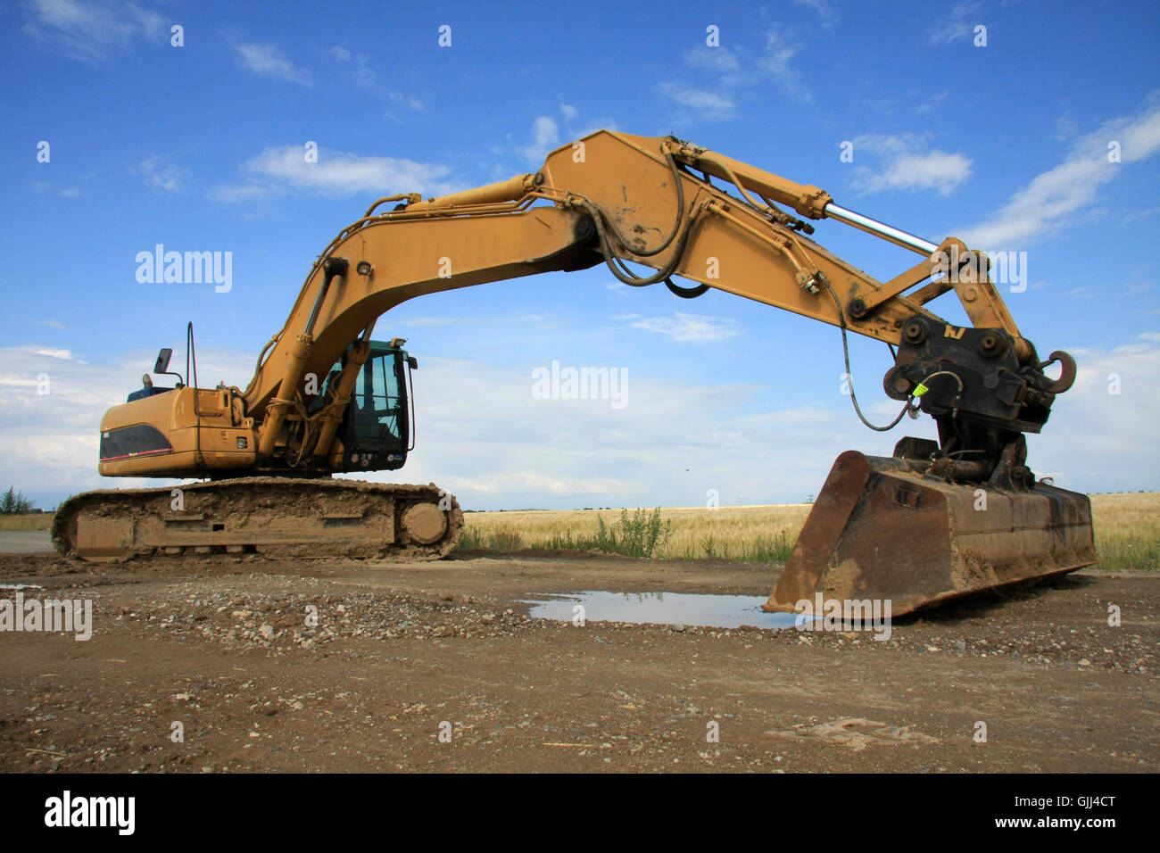 excavators ii - Stock Image