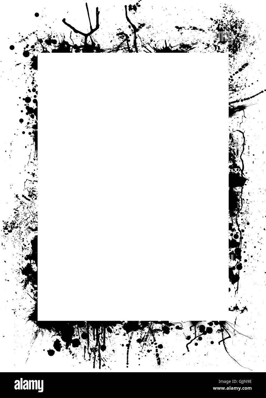 black swarthy jetblack Stock Photo