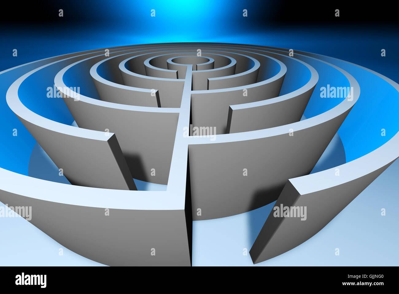circles a - Stock Image