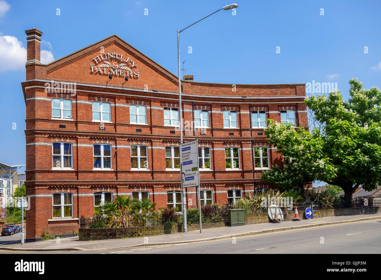 Huntley and Palmer Building Reading Berkshire - Stock Image