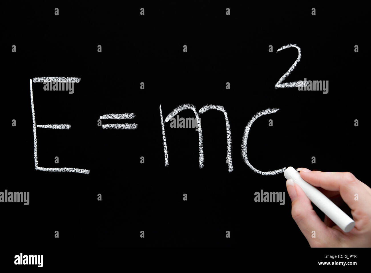 theory of relativity - Stock Image