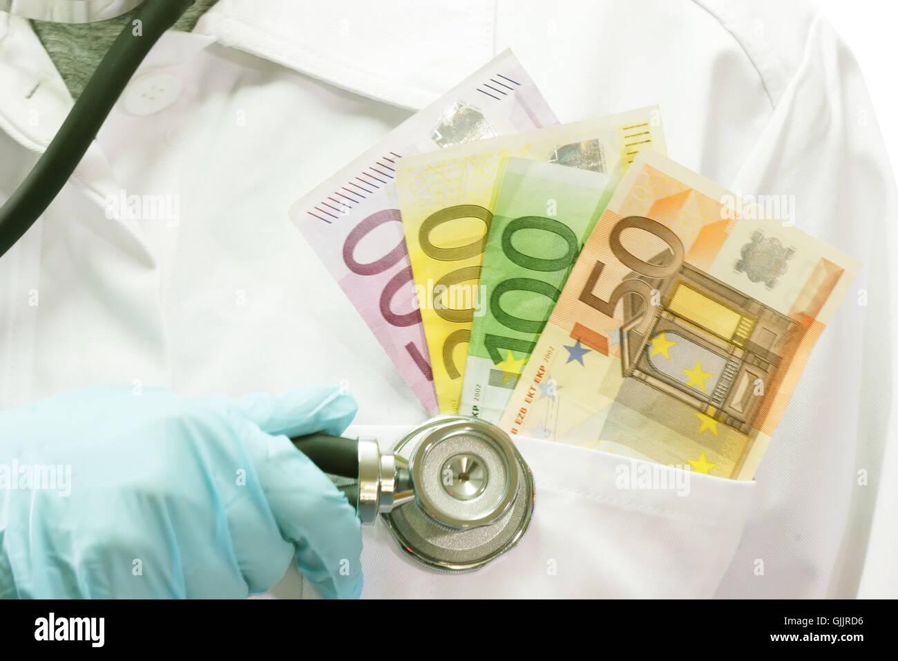 health insurance contribution Stock Photo
