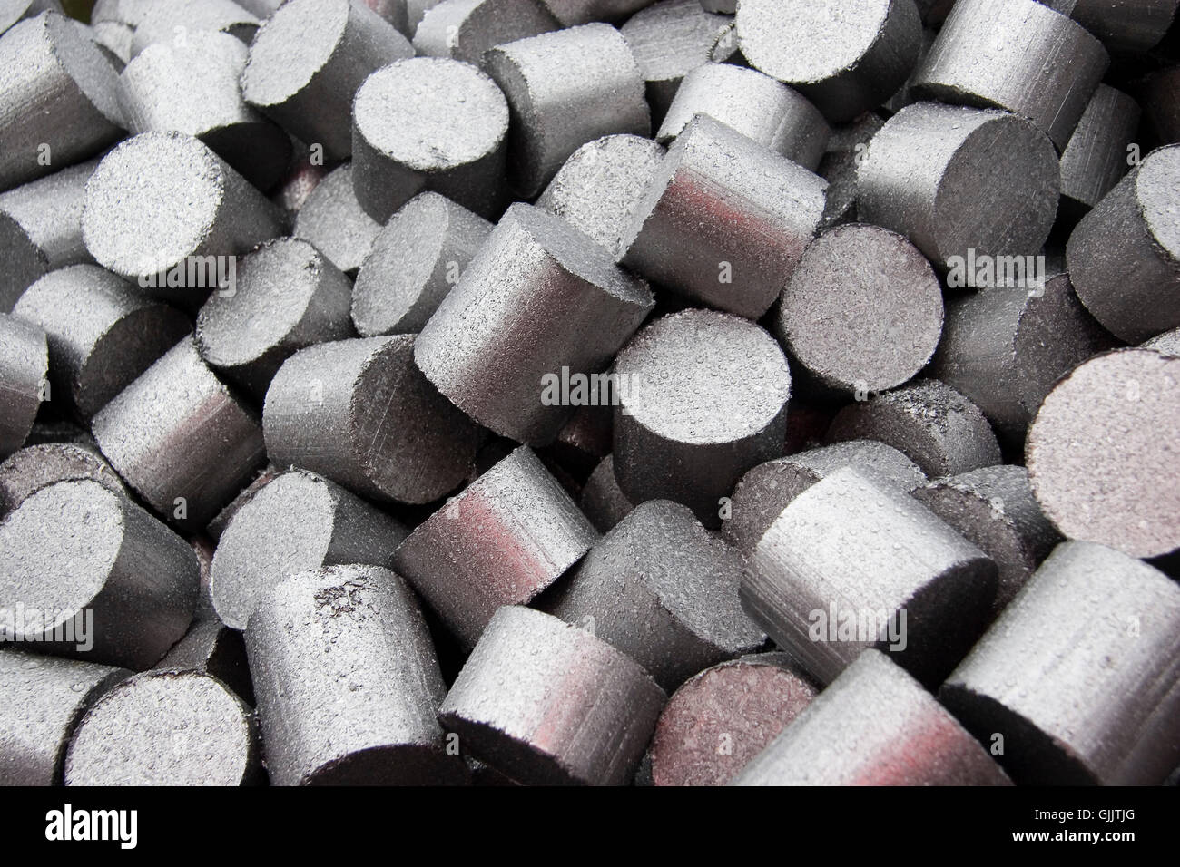 steel metal trash Stock Photo