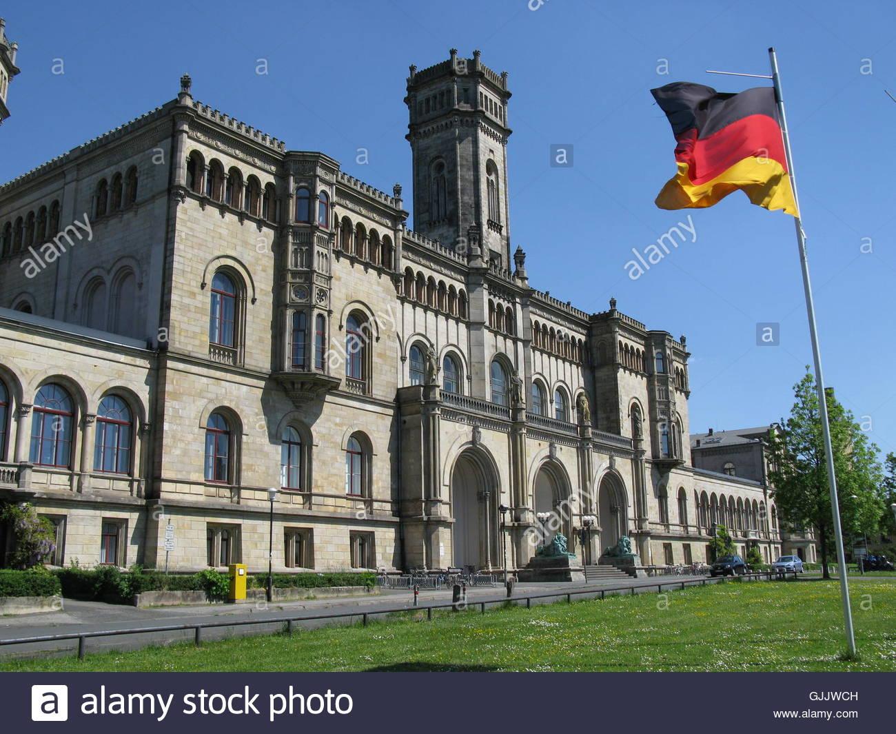 leipniz universitat hannover - Stock Image