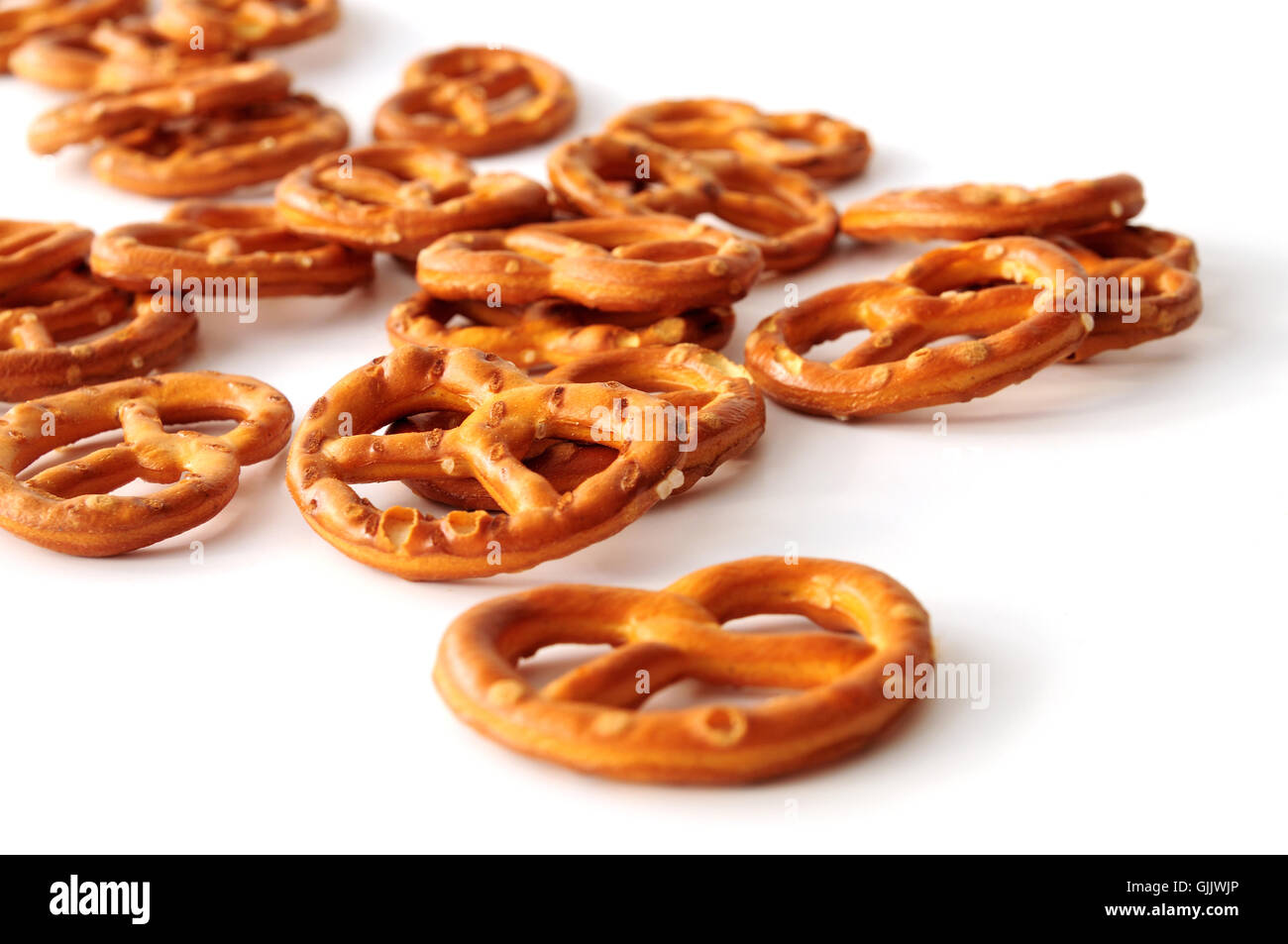 savoury biscuit brown brownish - Stock Image