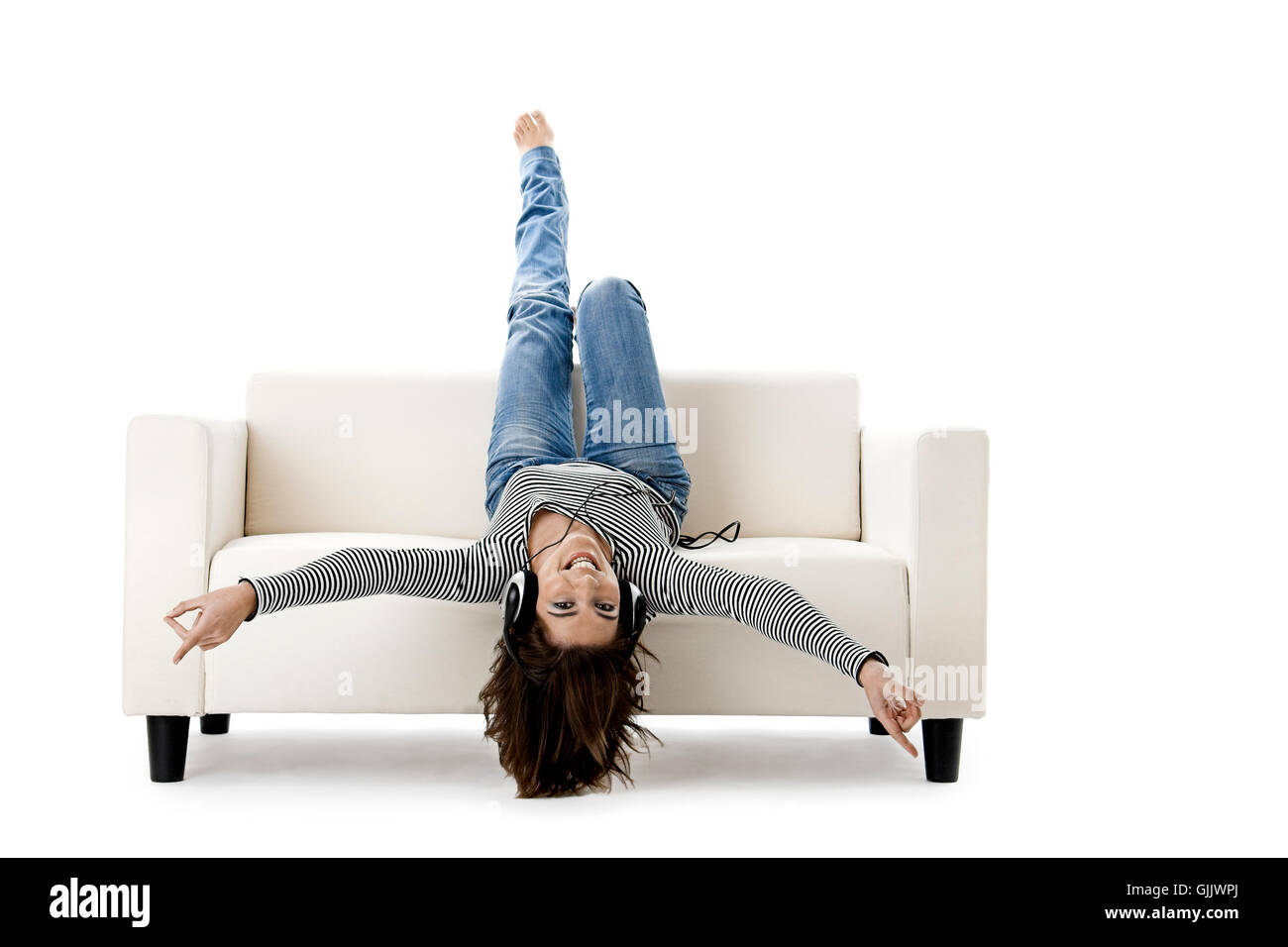 woman spare time free time - Stock Image