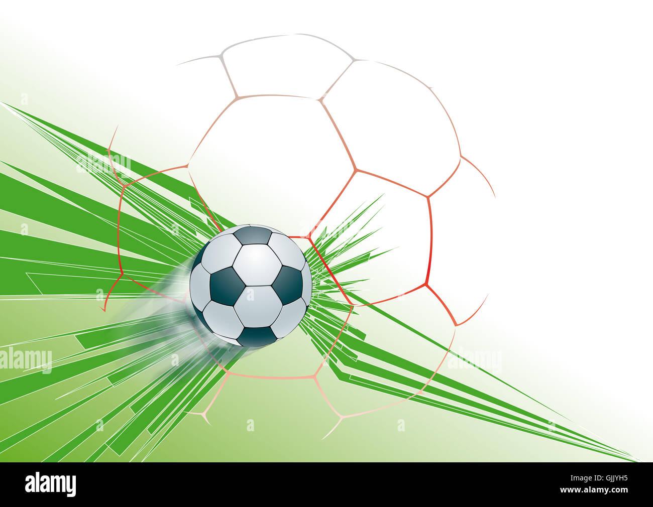 football background - Stock Image