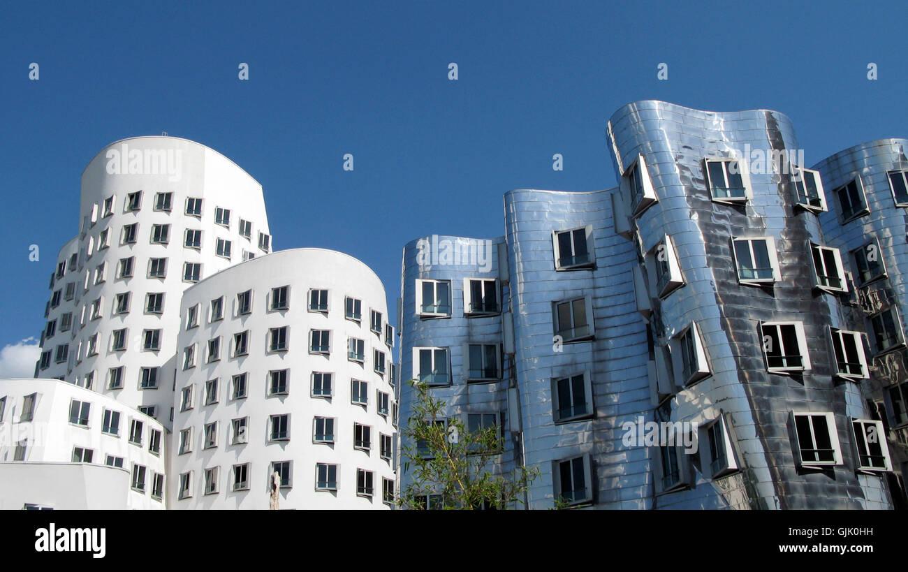 modern modernity style of construction Stock Photo