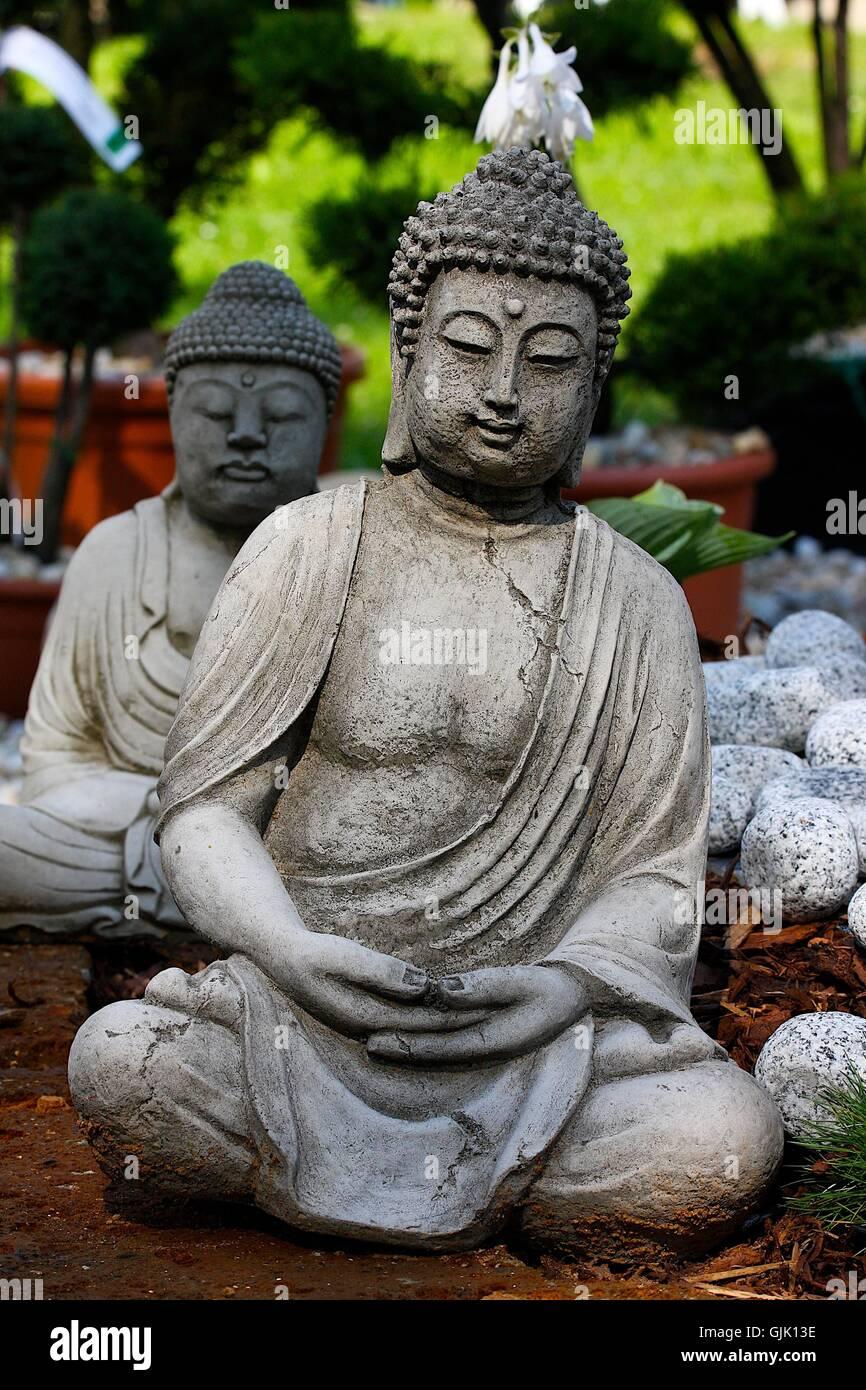 religion buddha skew - Stock Image