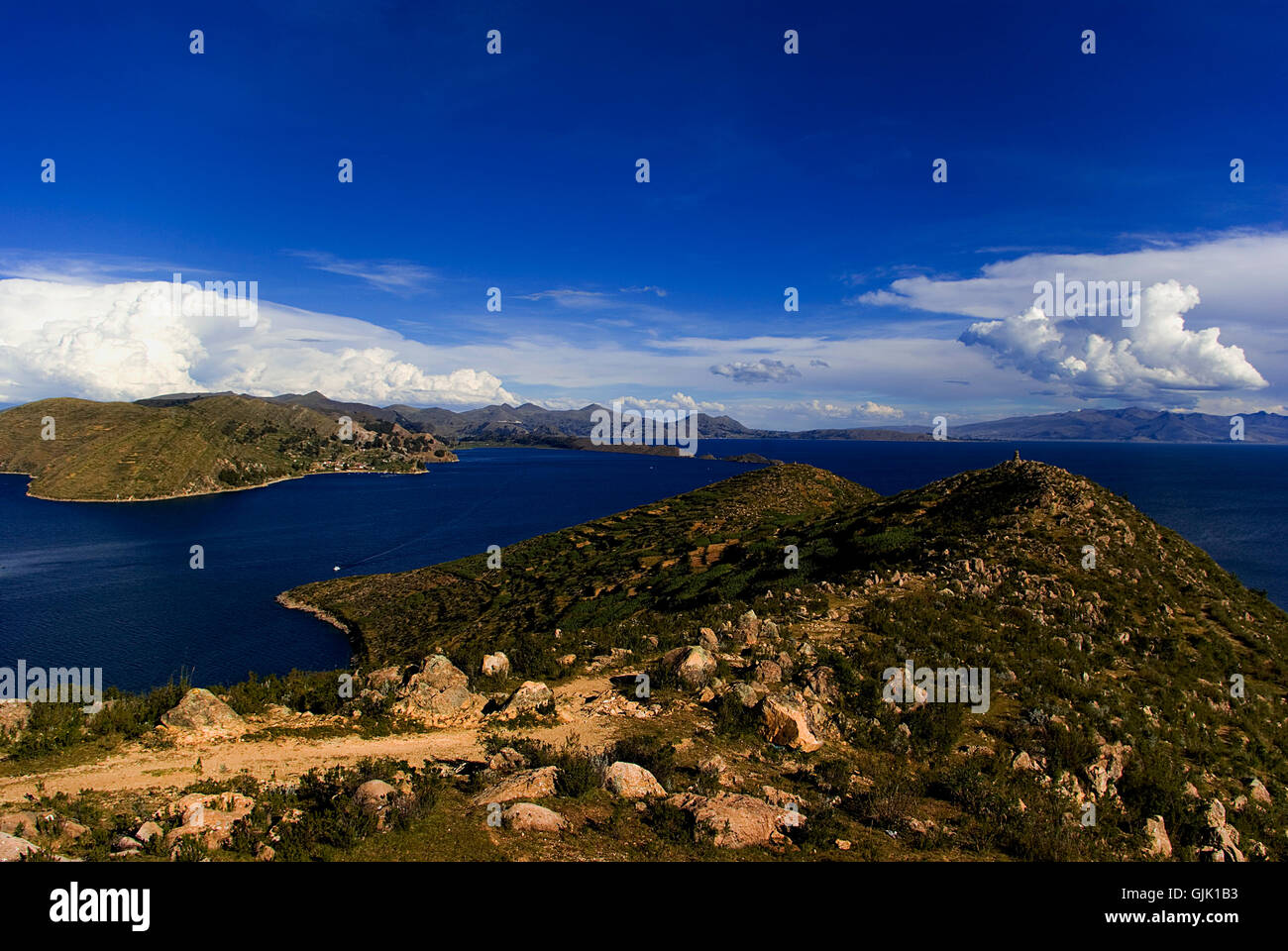 lake titicaca - Stock Image
