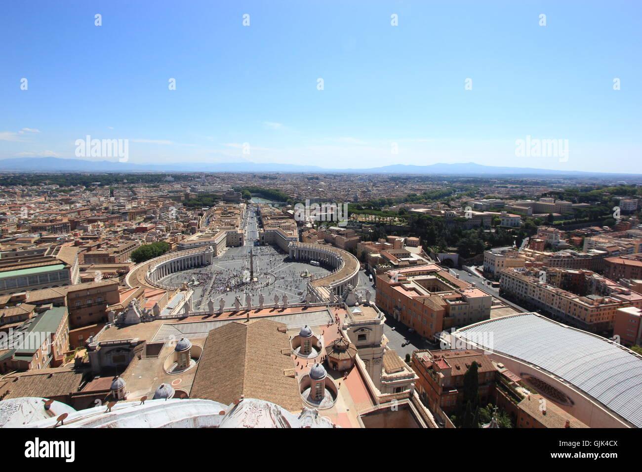 Saint Peter's Basilica, Vatican City, Rome, Italy Stock Photo