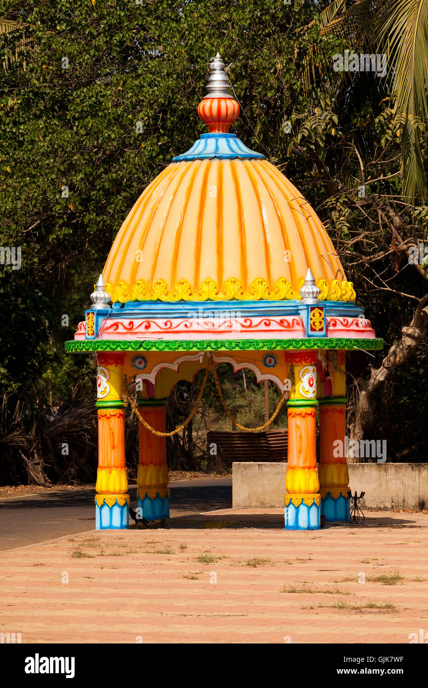 hindu chapel - Stock Image