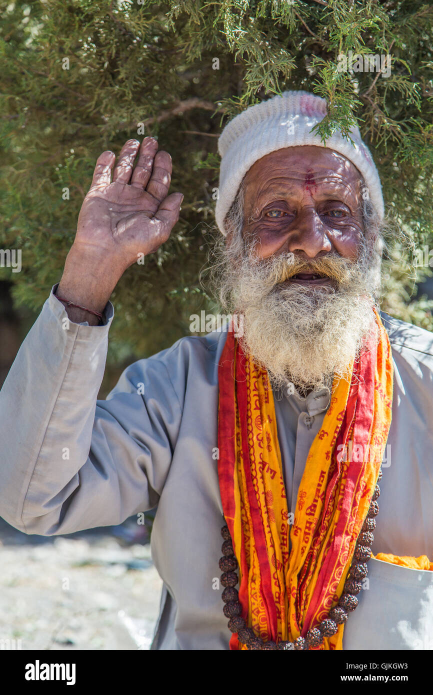 Nepal,, Yogi - Stock Image