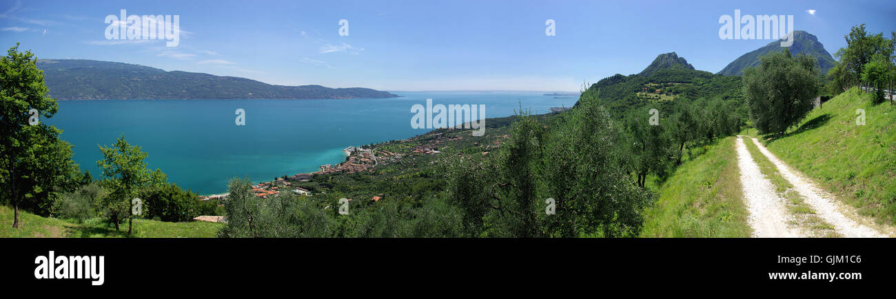 alps summer summerly - Stock Image