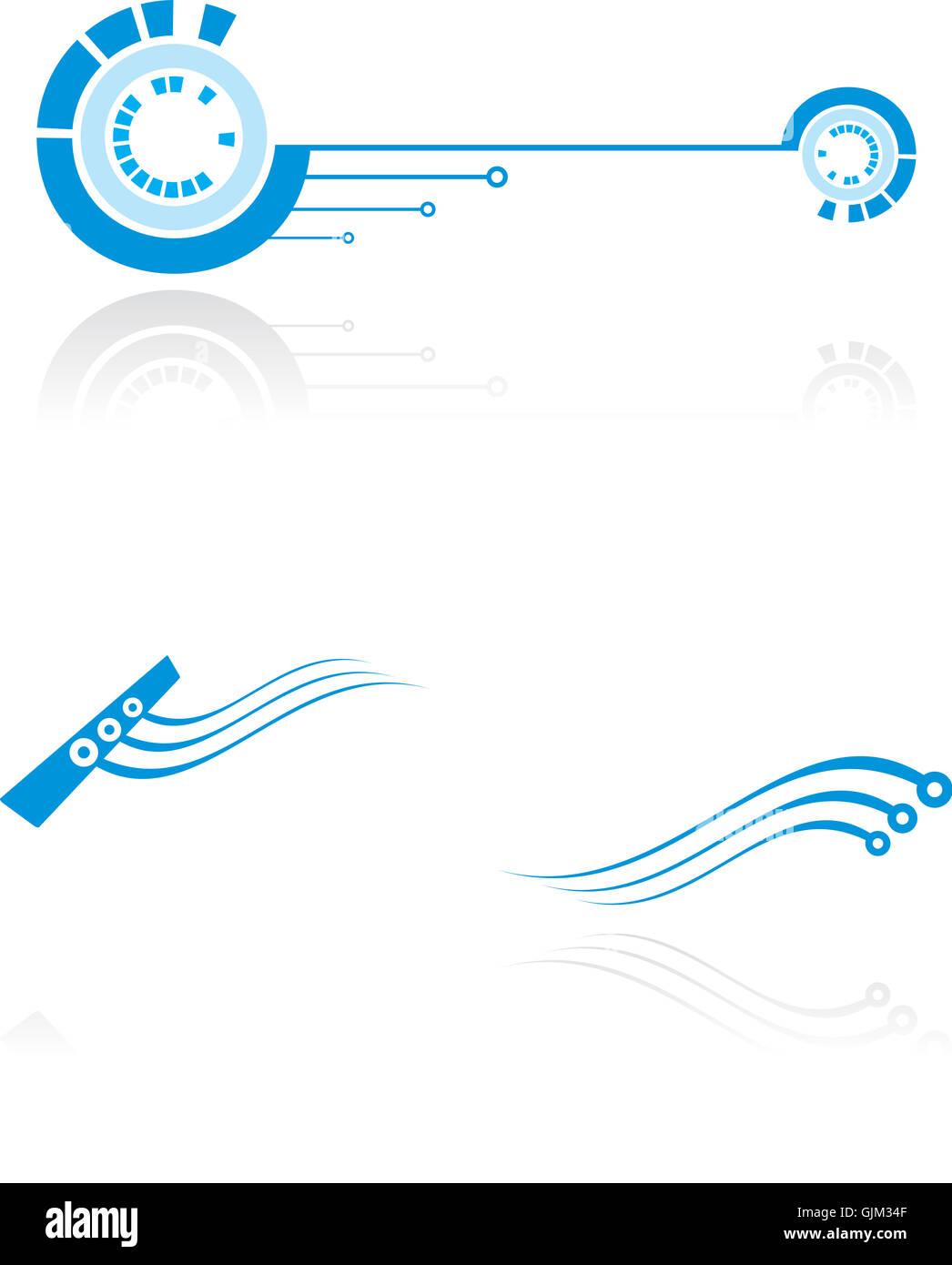 science logotype logo - Stock Image