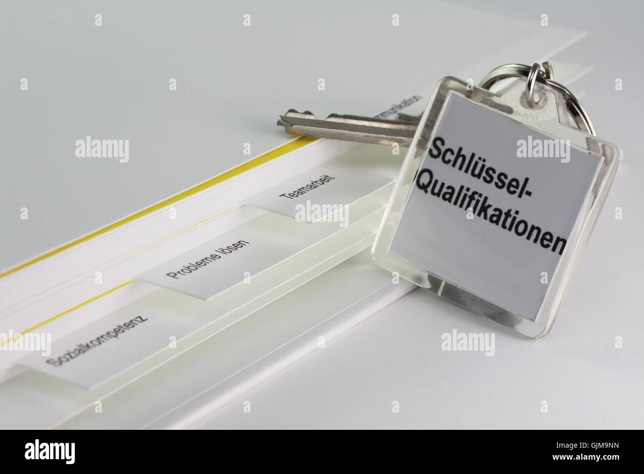 team work communication competence - Stock Image