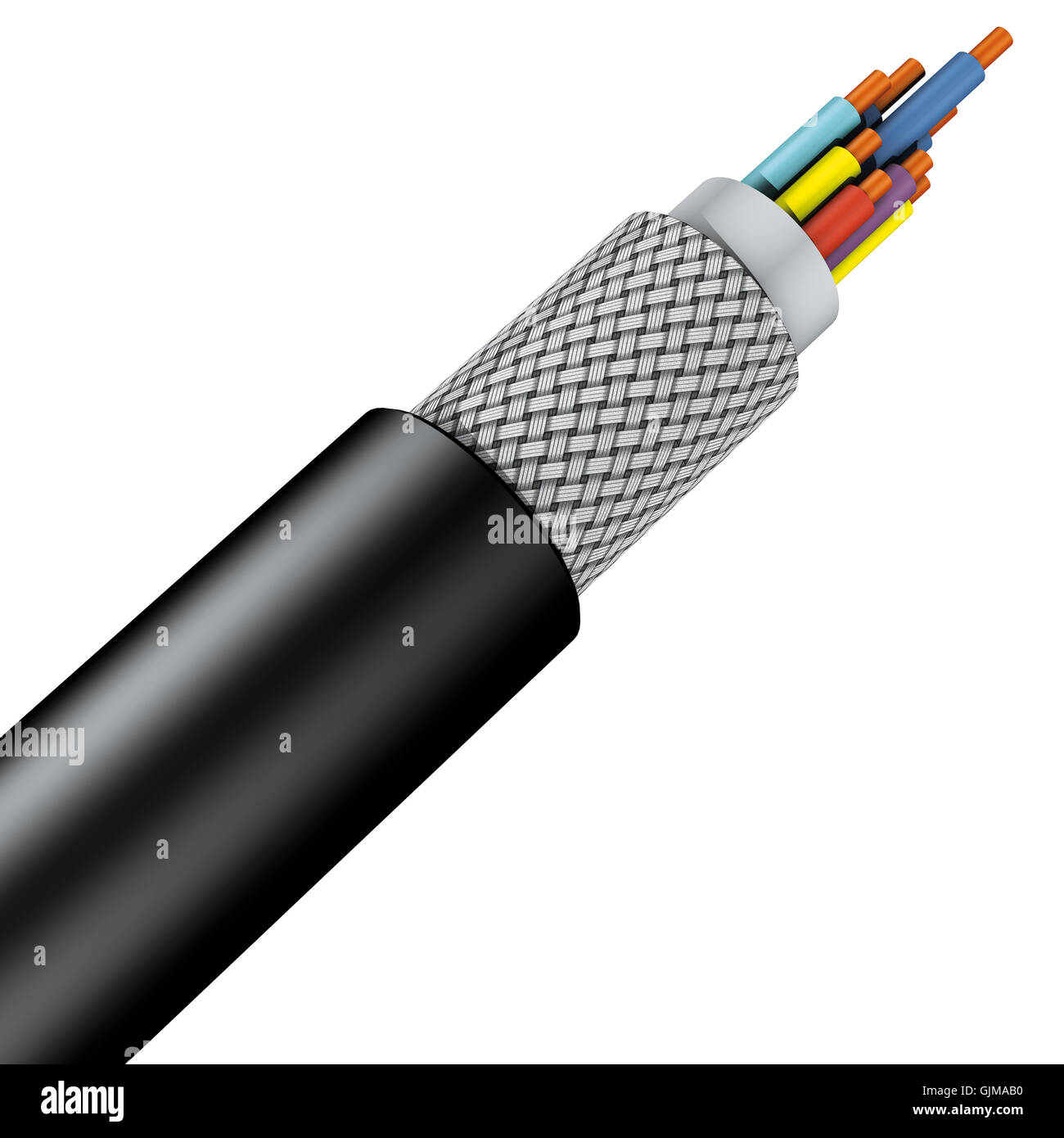 Armoured Cable Stock Photos & Armoured Cable Stock Images - Alamy