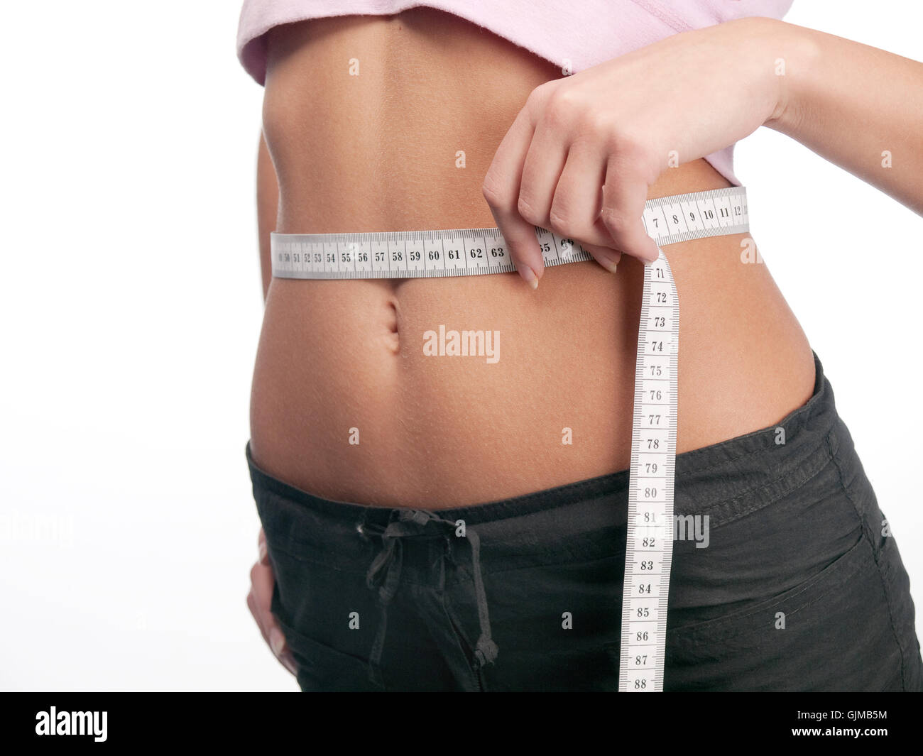 Slim and fit - Stock Image