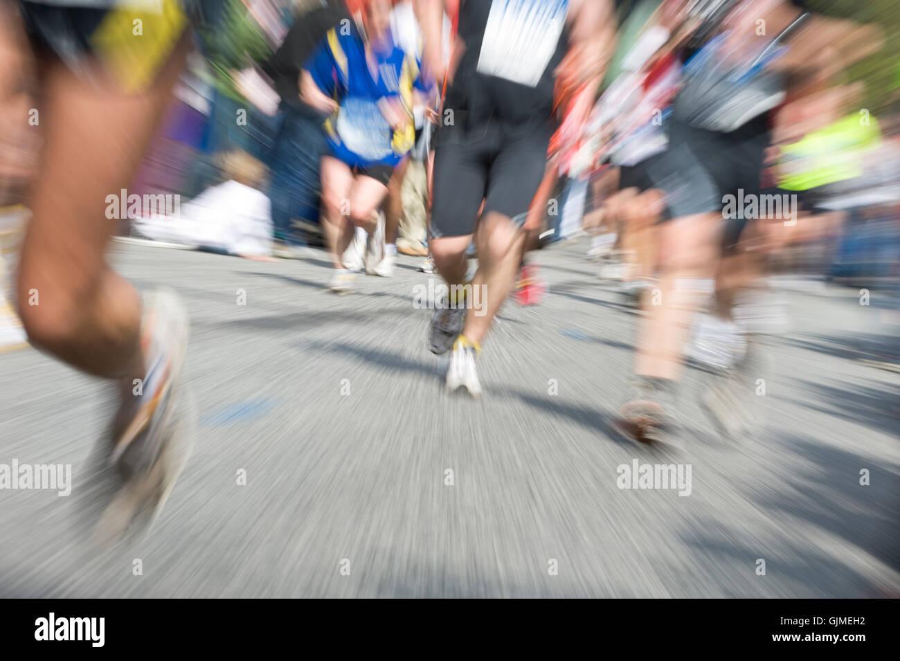 sport jog sports - Stock Image