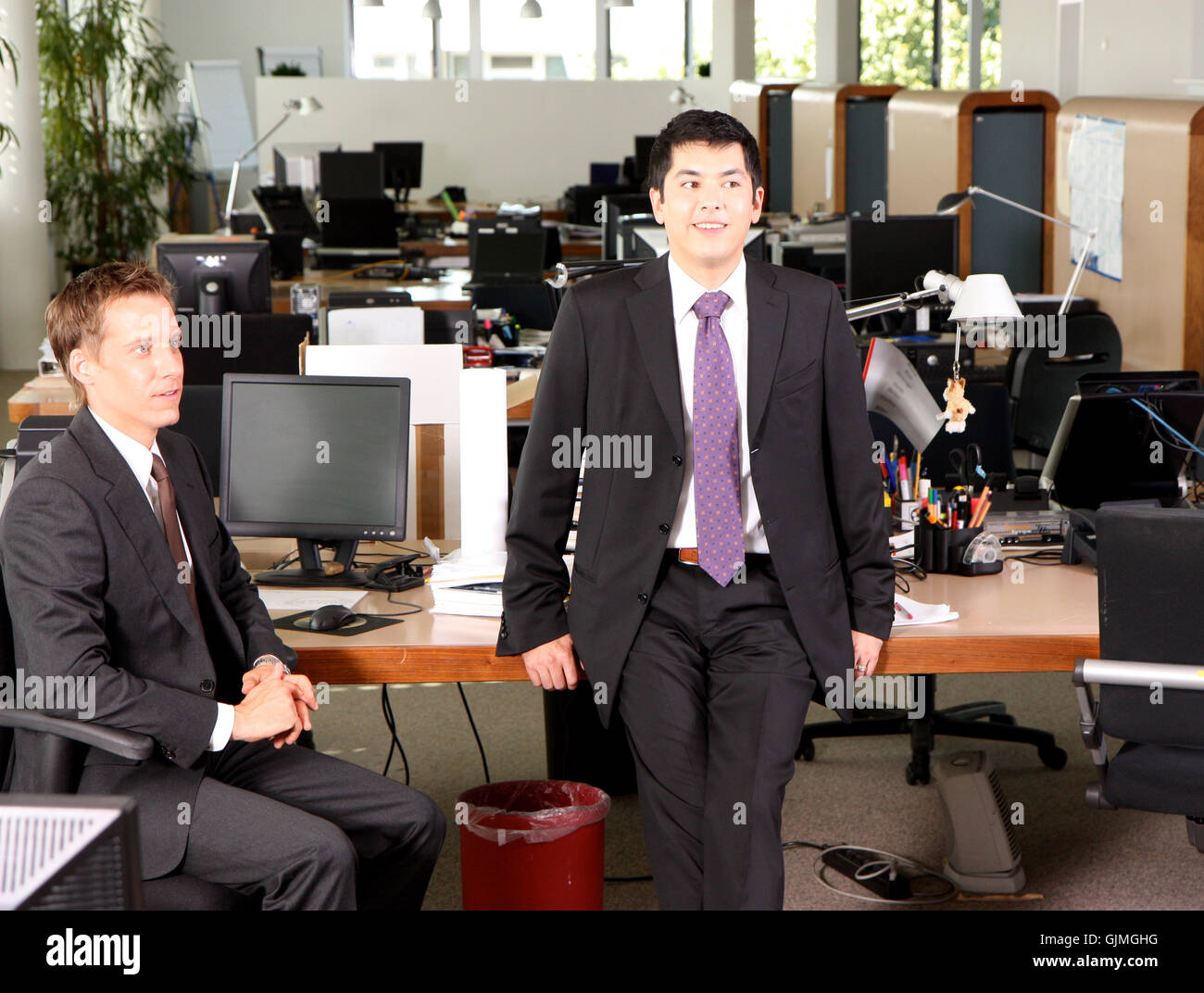 colleagues - Stock Image