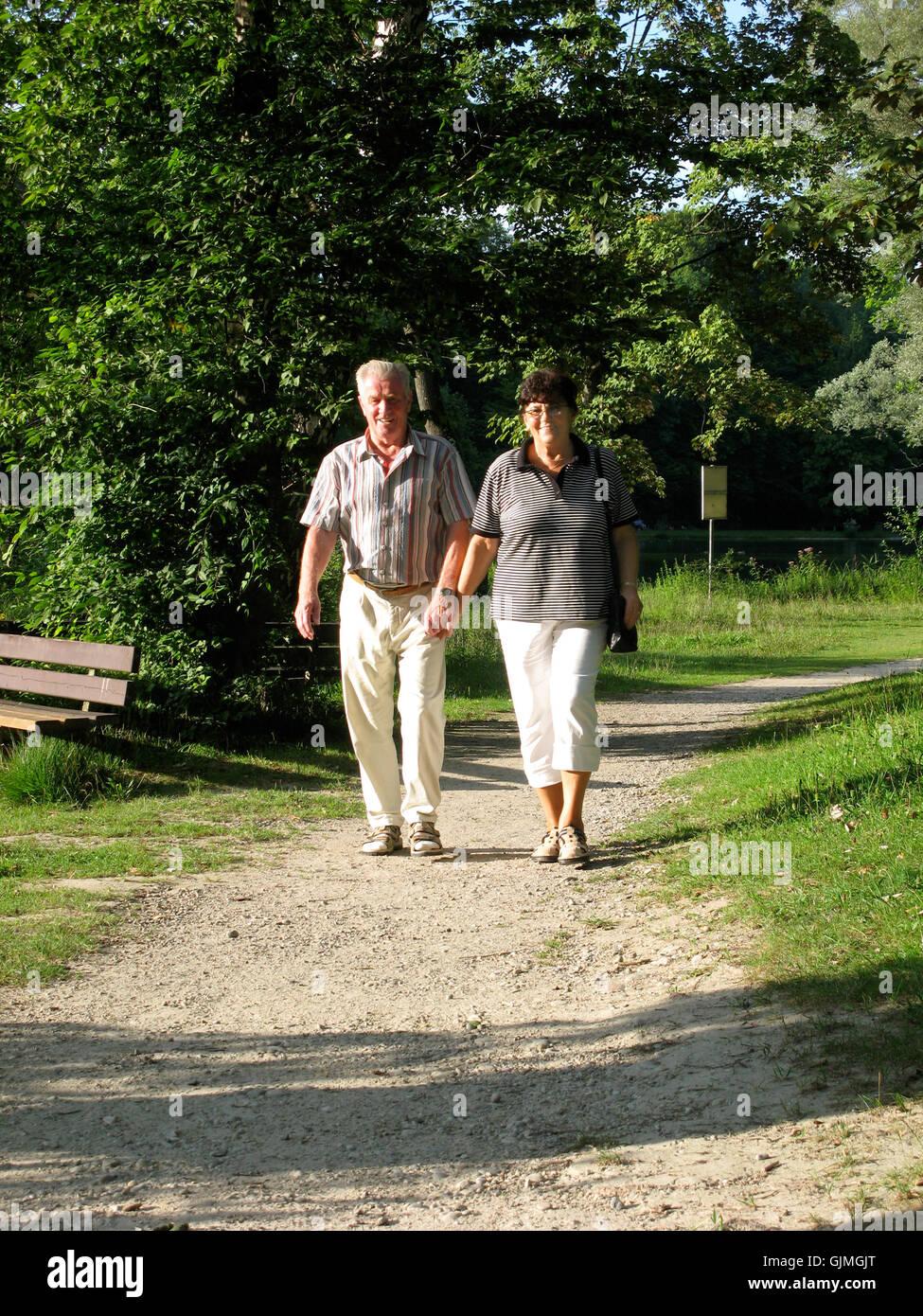 park walk pension - Stock Image
