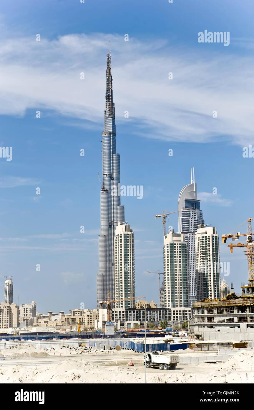skyline house multistory building Stock Photo