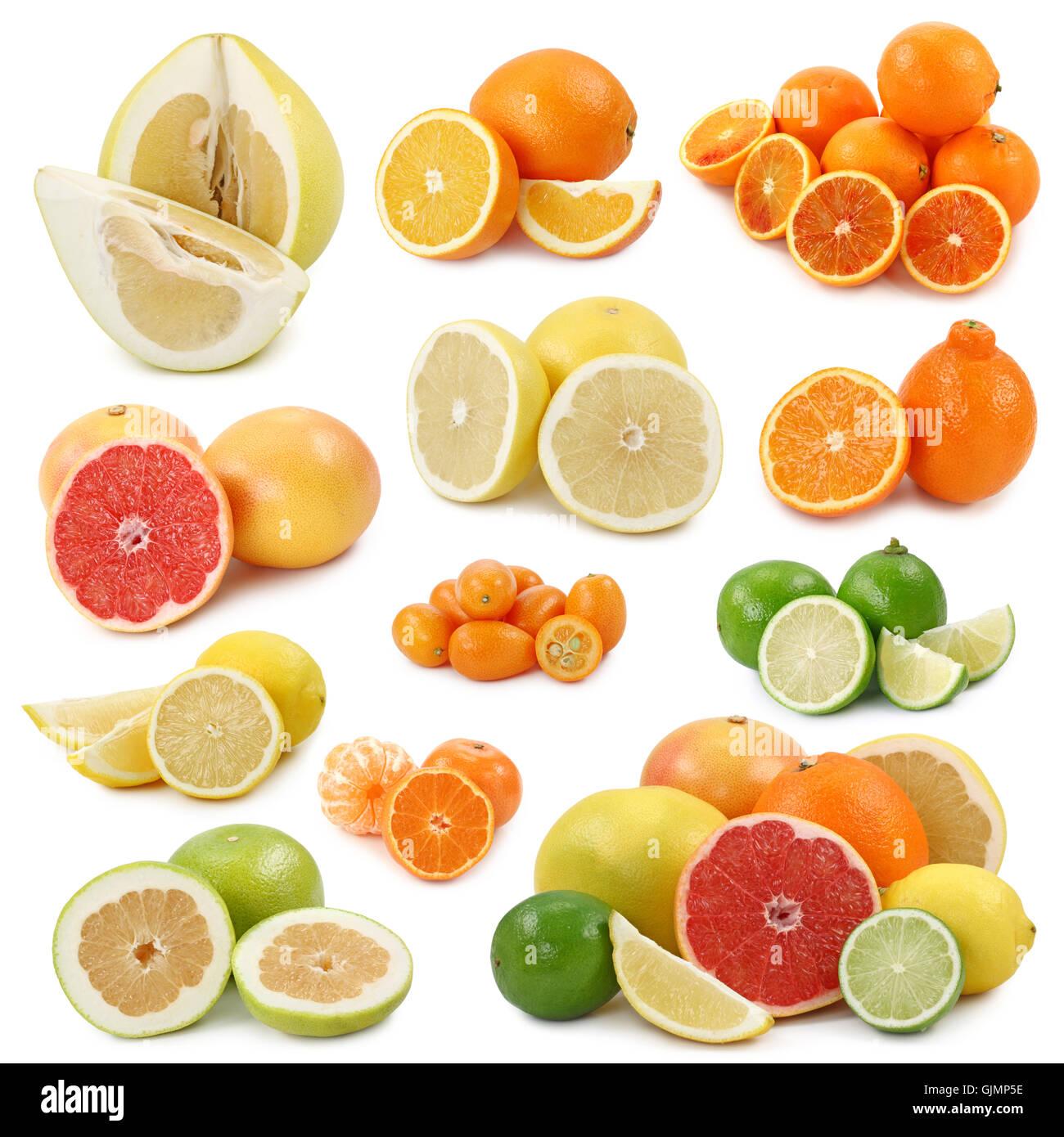 orange food aliment - Stock Image