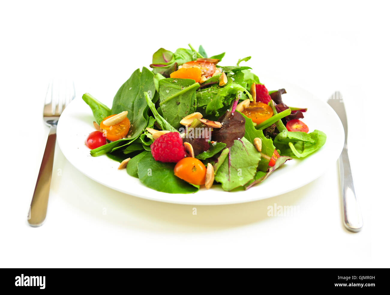 berries food dish - Stock Image
