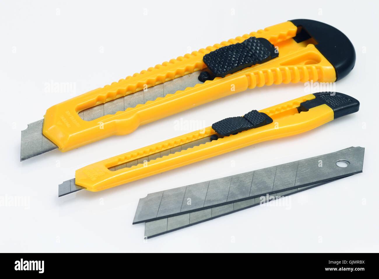 cutting tool tool blade - Stock Image