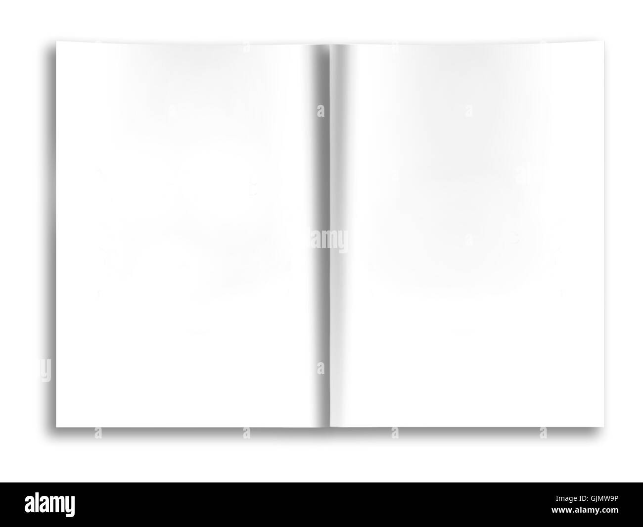 open letter book - Stock Image