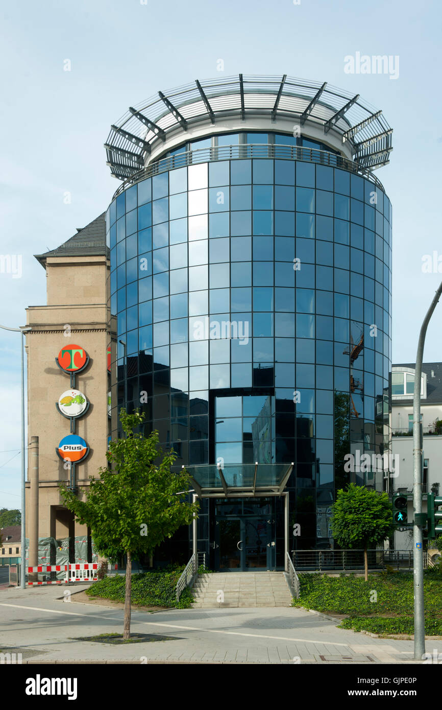 Deutschland, Nordrhein-Westfalen, Mühlheim an der Ruhr, Hauptverwaltung Tengelmann - Stock Image