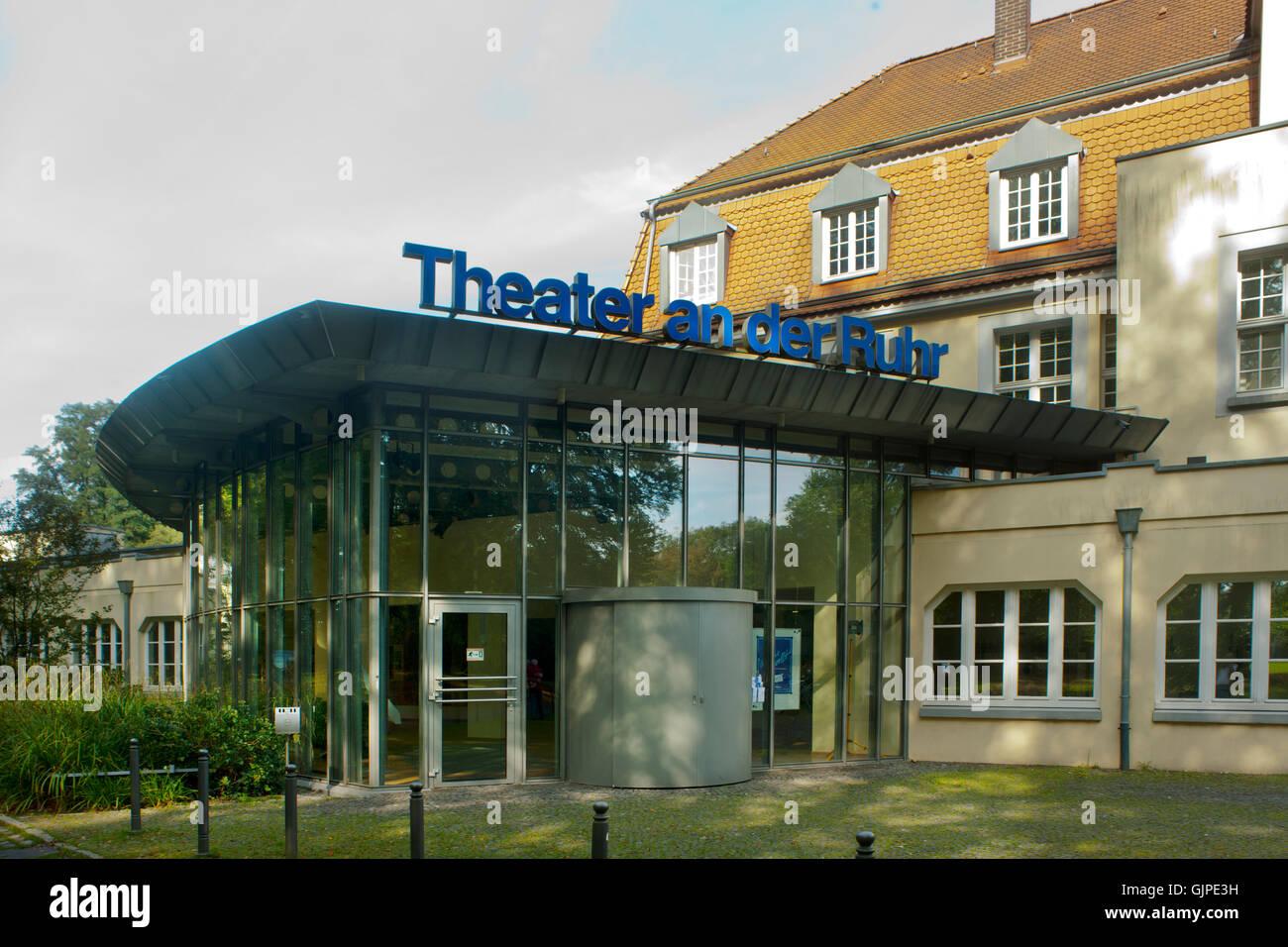 Deutschland, Nordrhein-Westfalen, Mühlheim an der Ruhr, Theater an der Ruhr - Stock Image