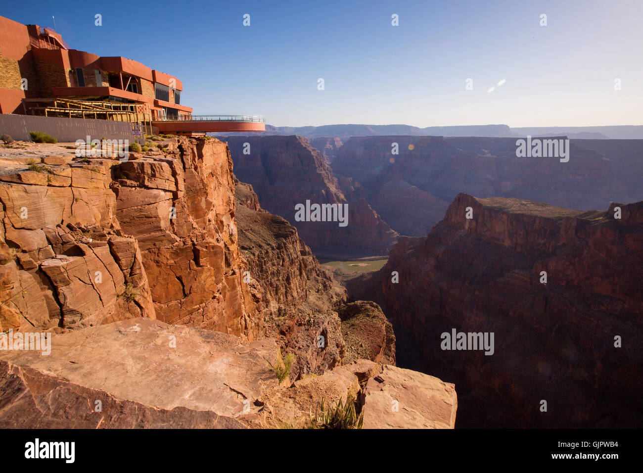 SkyWalk, Grand Canyon. United States of America - Stock Image