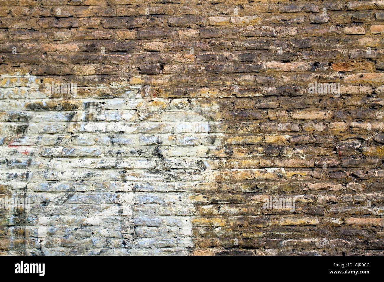 Brick Wall Old Ruined Plaster Stock Photos Amp Brick Wall