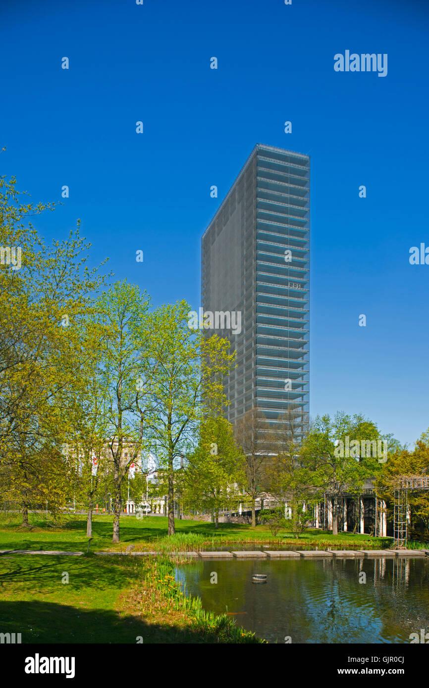 BRD, Deutschland, NRW, Leverkusen, Bayer-Hochhaus - Stock Image