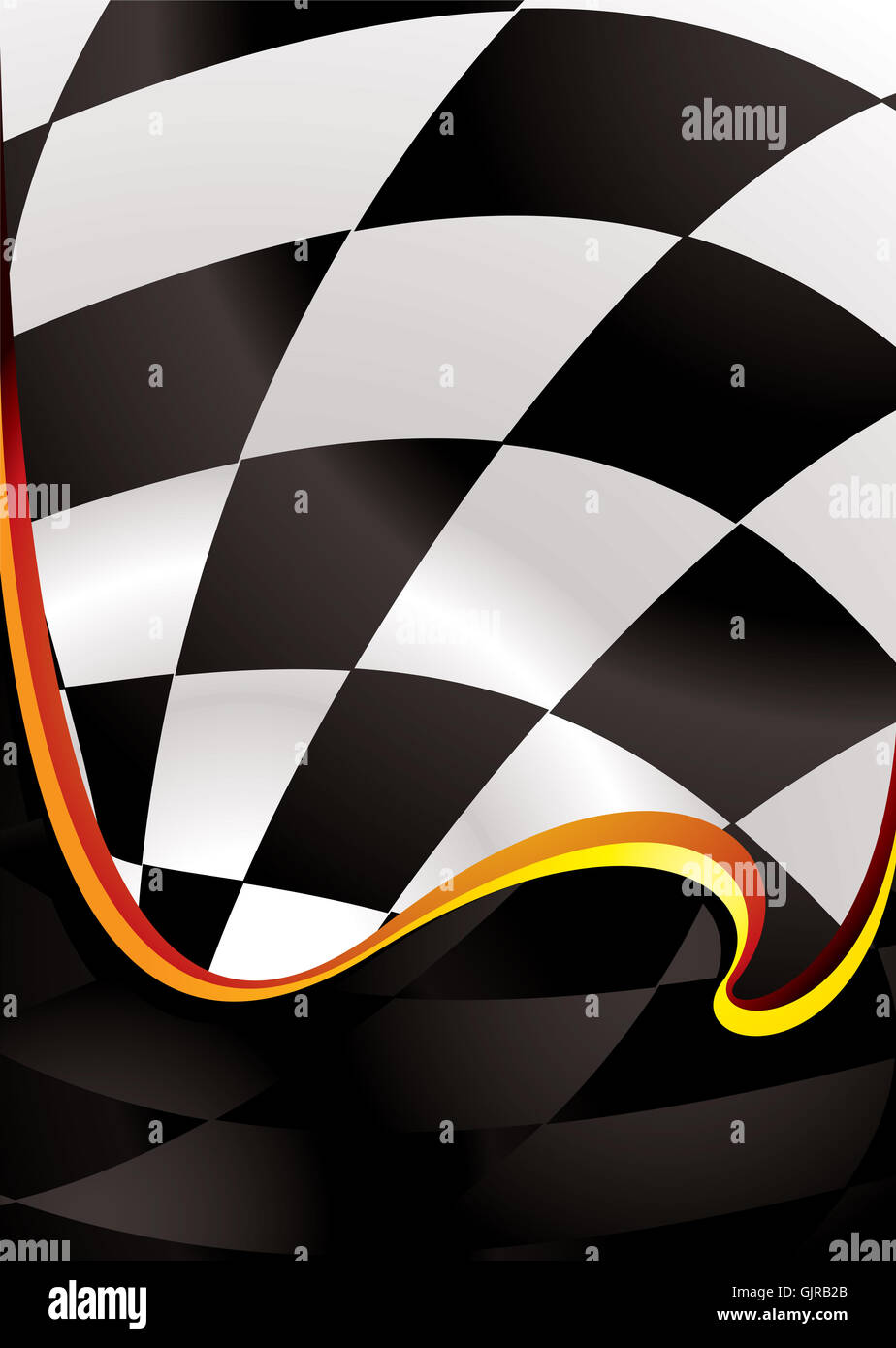 art abstract formula - Stock Image