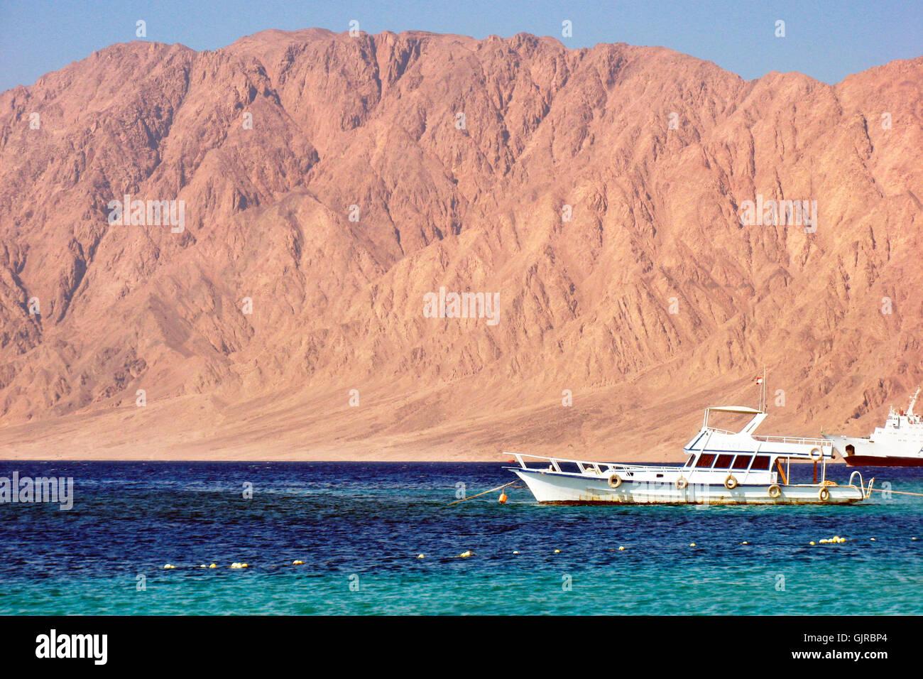travel mountains tourism - Stock Image