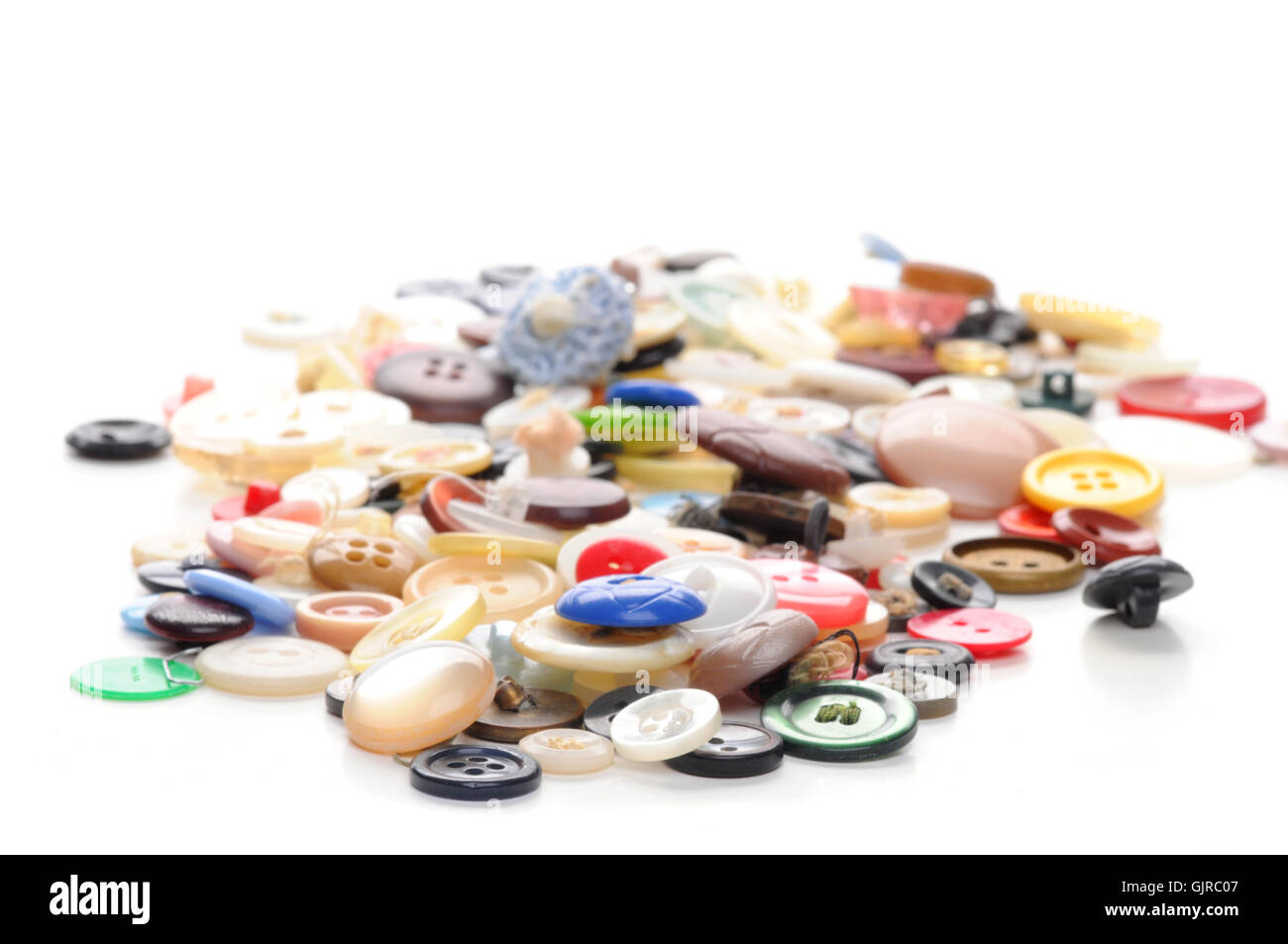 Discarded Buttons - Stock Image