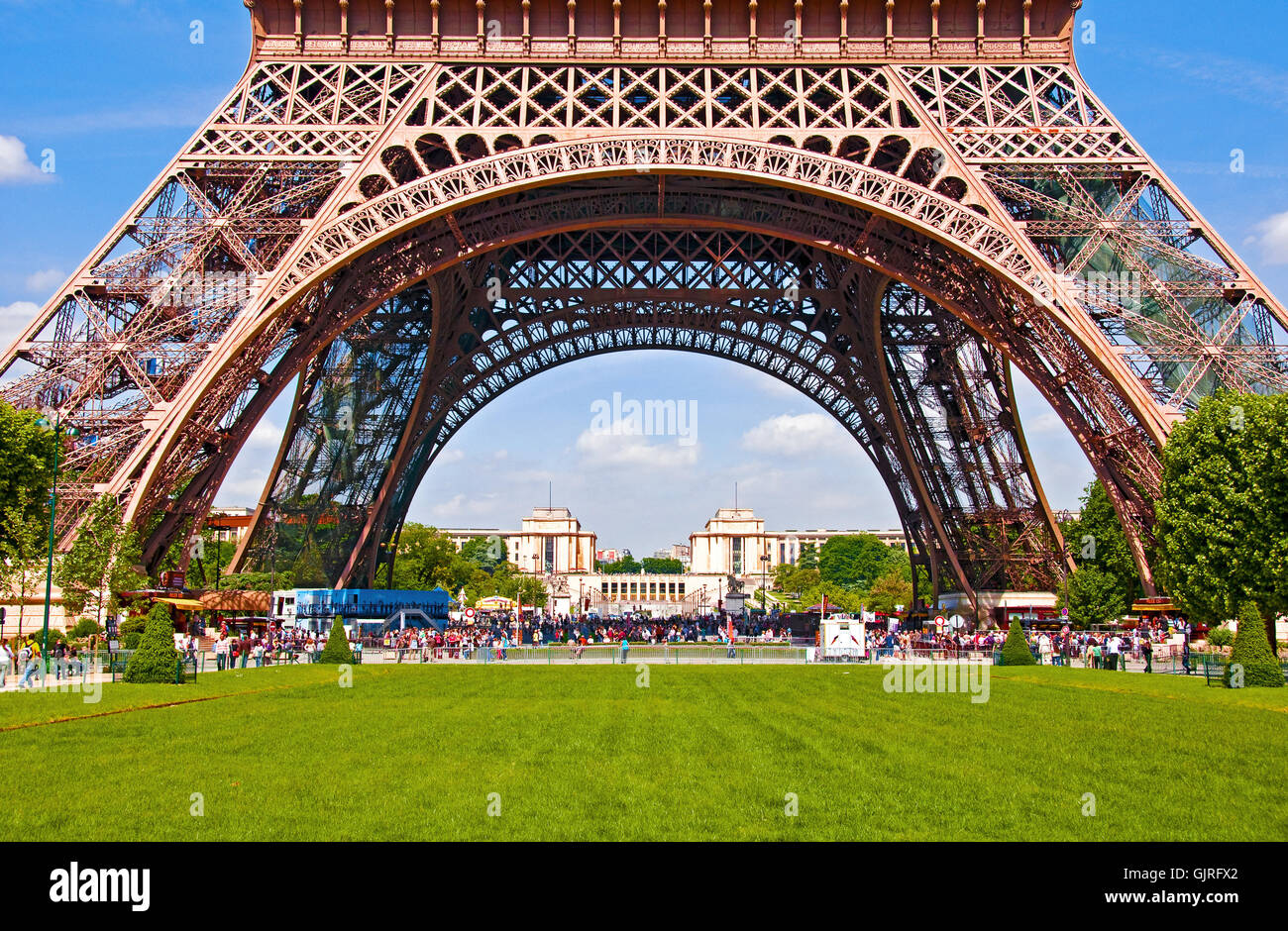 eiffel tower 4 Stock Photo