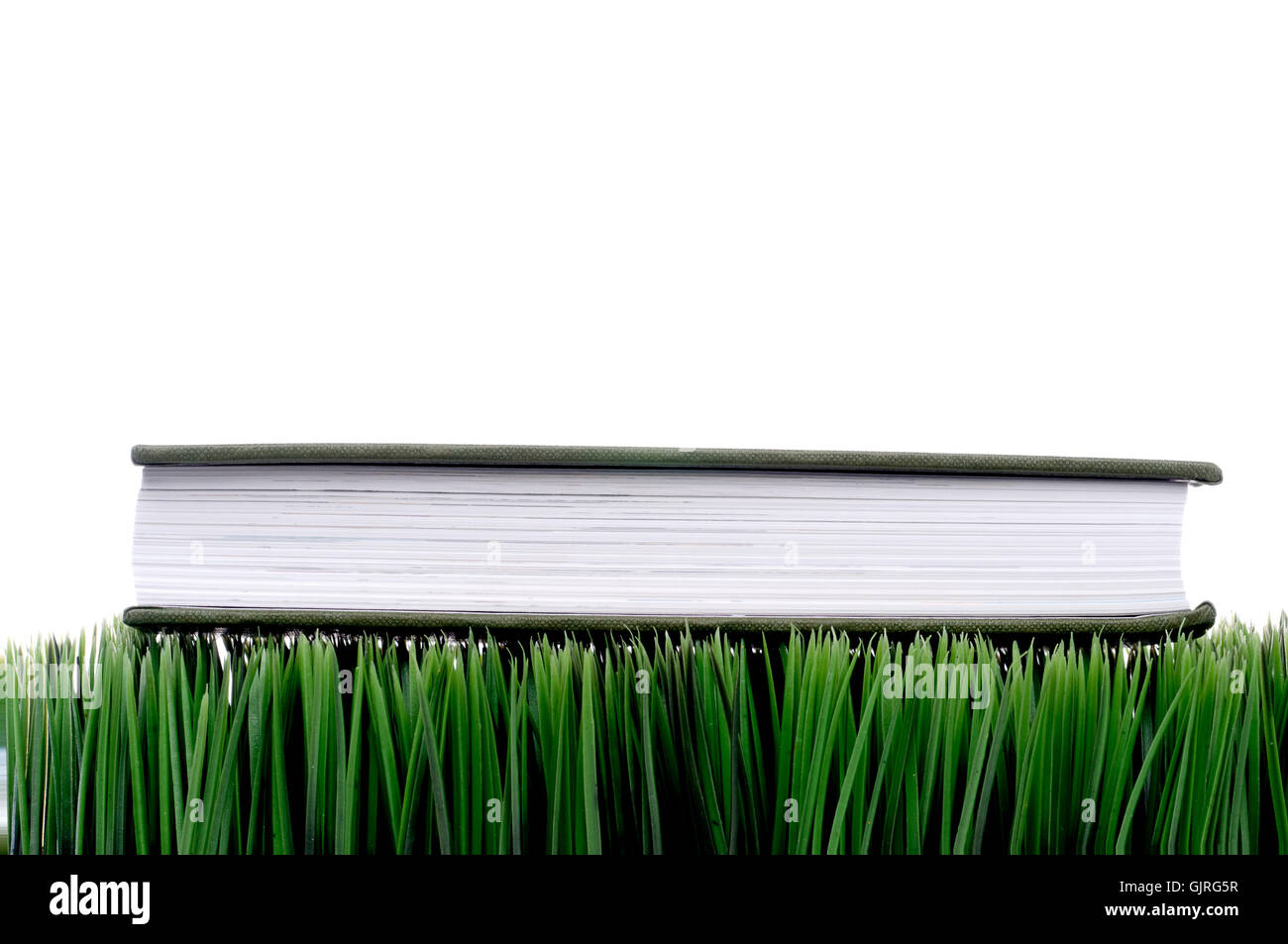 horizontal sheet of paper paper - Stock Image