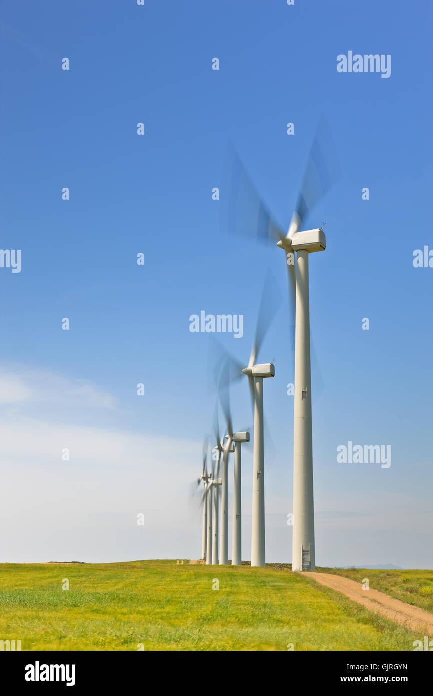 windmill alternative blade - Stock Image