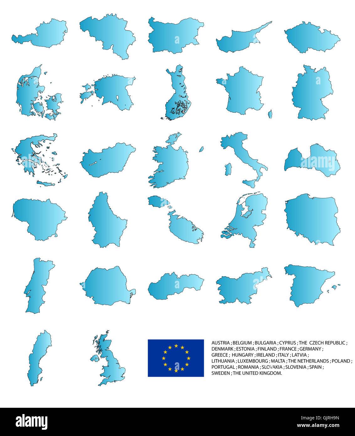 blank european caucasian - Stock Image