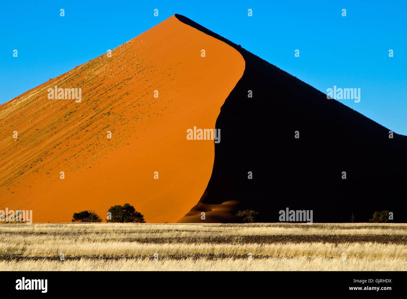 desert wasteland africa - Stock Image
