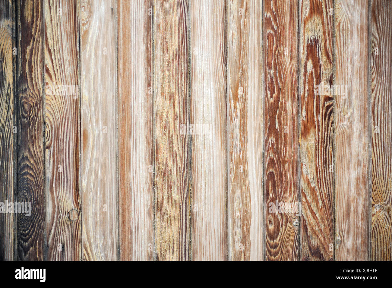 wood wall planks - Stock Image