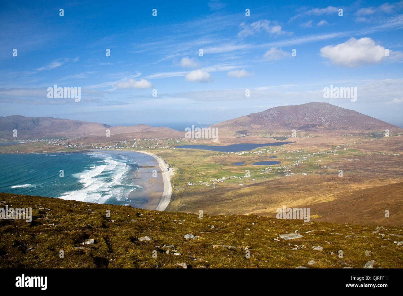 coast ireland irish - Stock Image