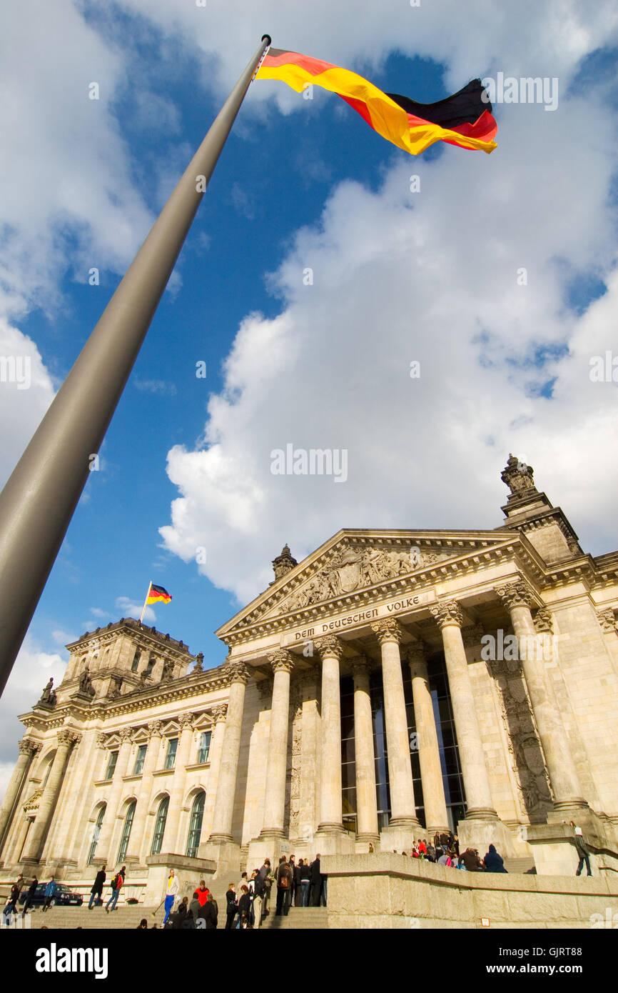 passersby berlin capital Stock Photo