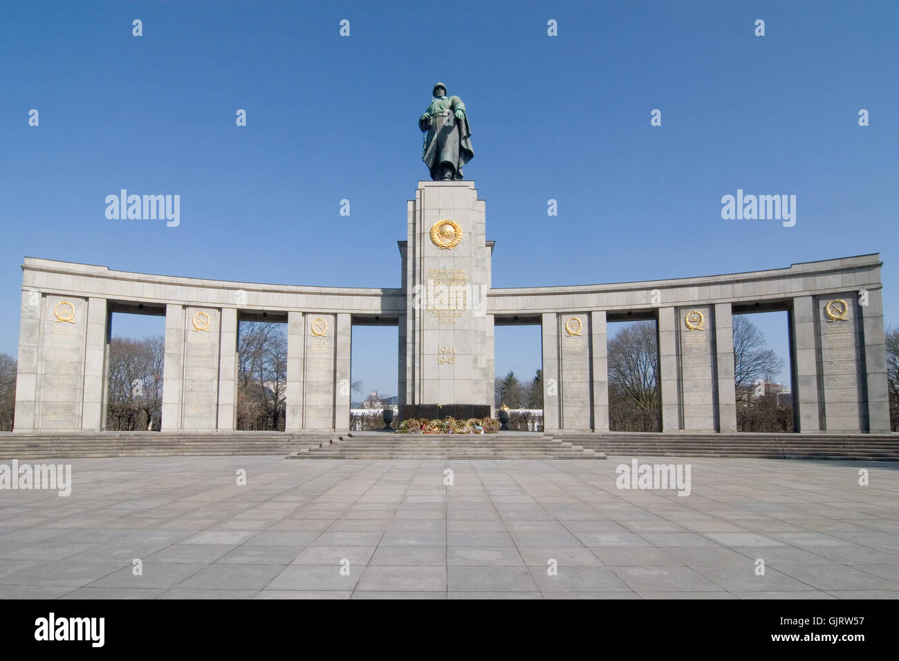 russians memorial - Stock Image