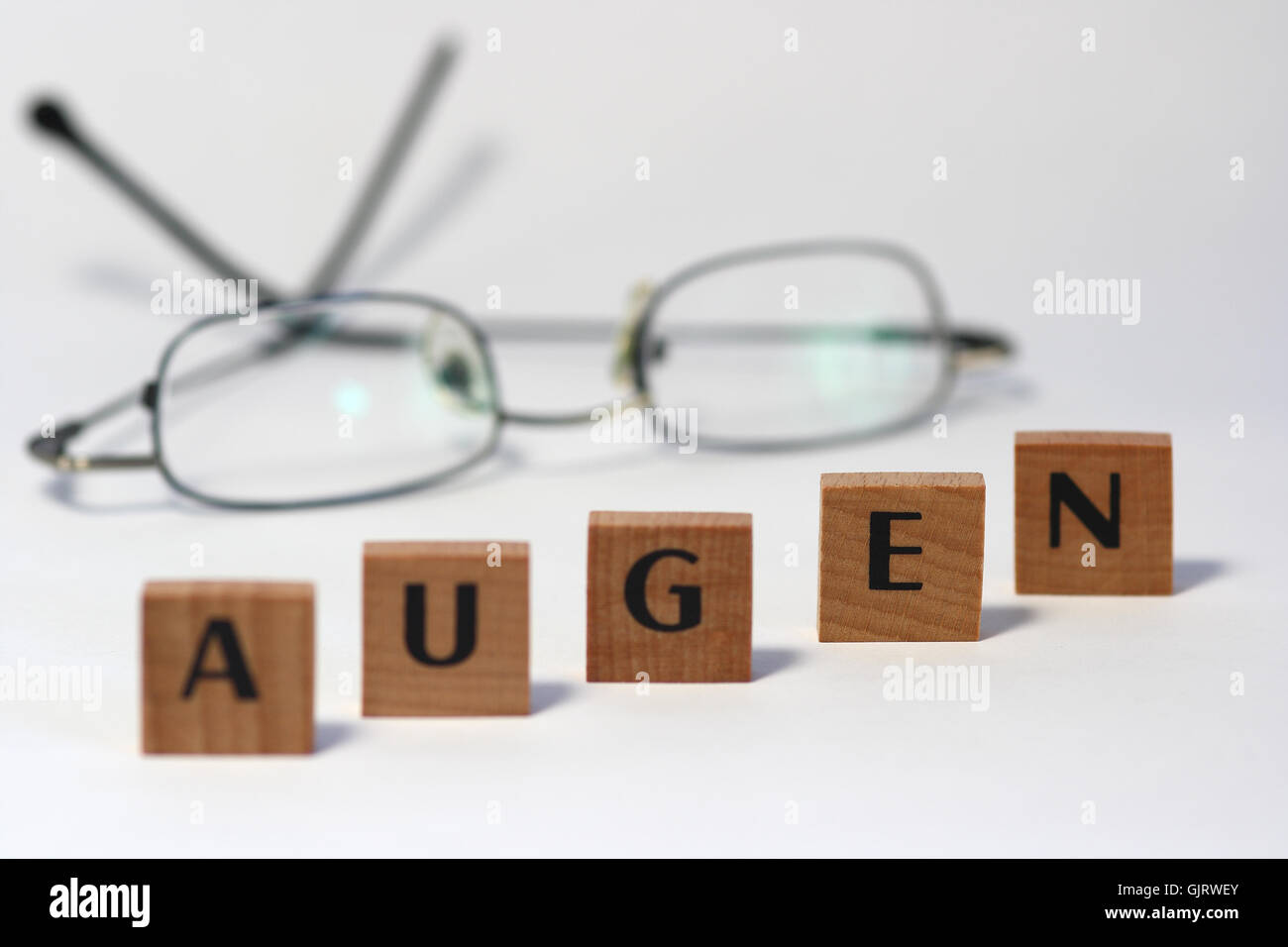 eyes spectacles glasses Stock Photo
