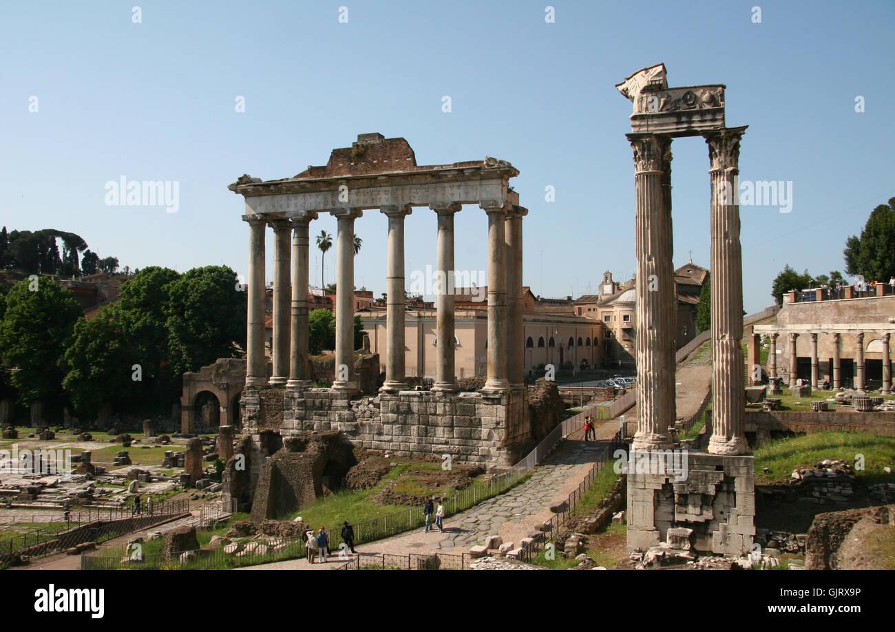 foro romano 2 - Stock Image